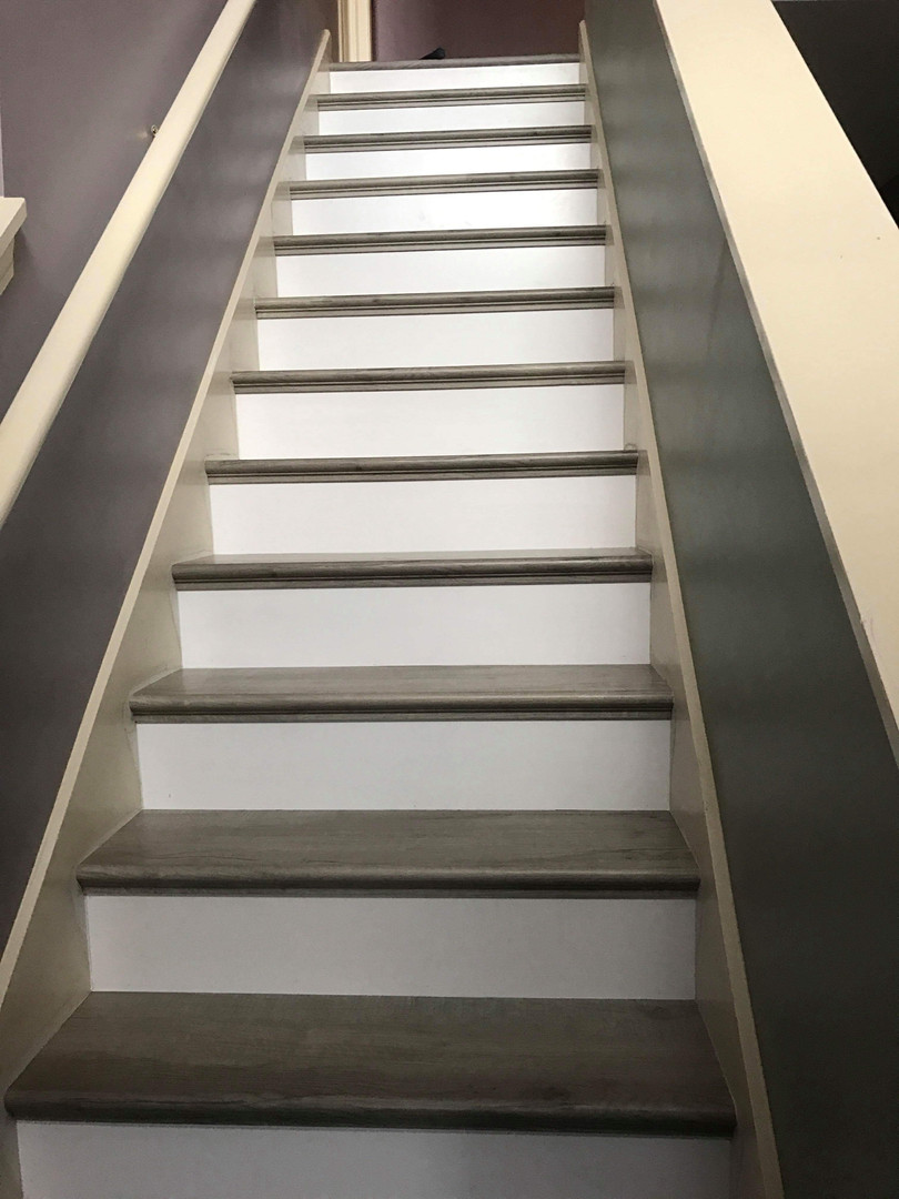 After - Stairway