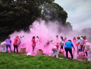 Holy pink smoke!