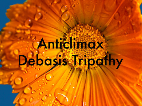 Anticlimax by Debasis Tripathy