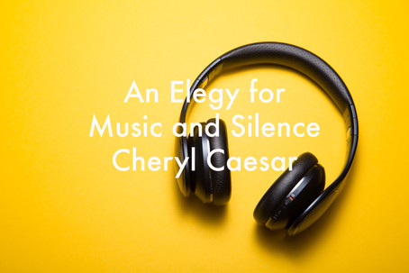 An Elegy for Music and Silence by Cheryl Caesar