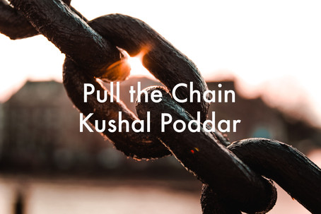 Pull the Chain by Kushal Poddar