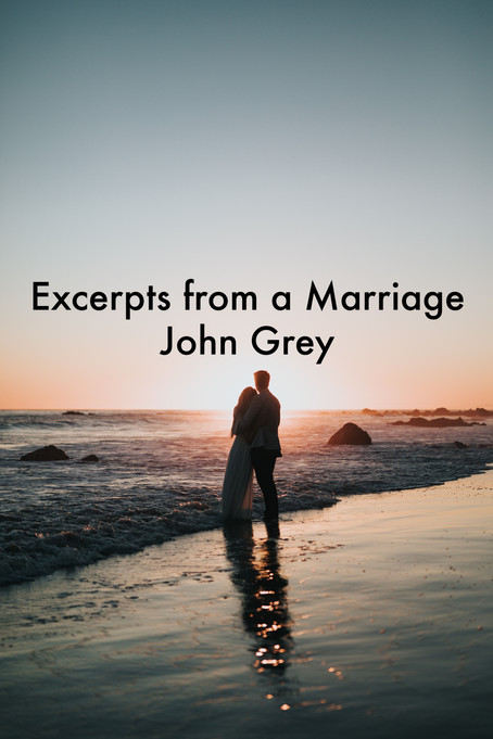 Excerpts from a Marriage by John Grey