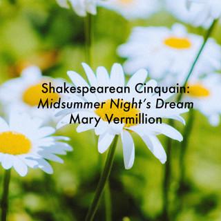 Shakespearean Cinquain