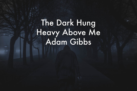 The Dark Hung Heavy Above Me