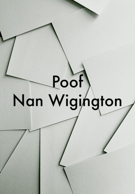 Poof by Nan Wigington