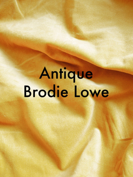 Antique by Brodie Lowe