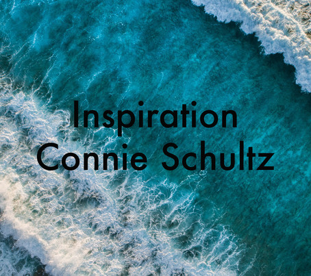 Inspiration by Connie Schultz
