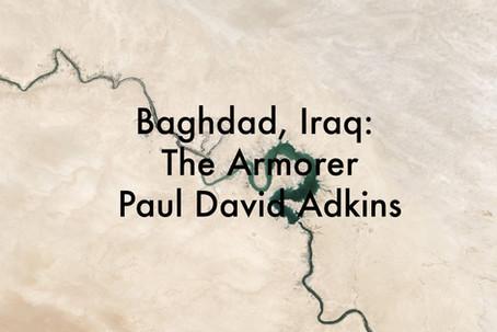 Baghdad Iraq: The Armorer by Paul David Adkins