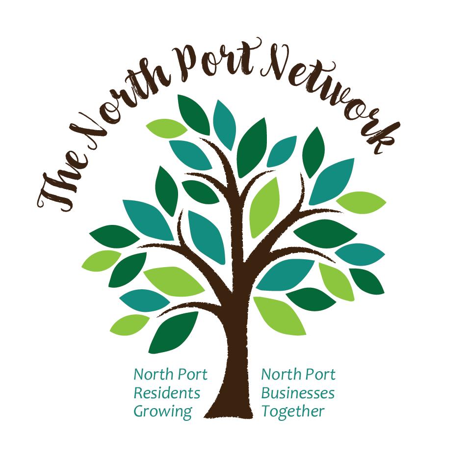 The North Port Network Logo