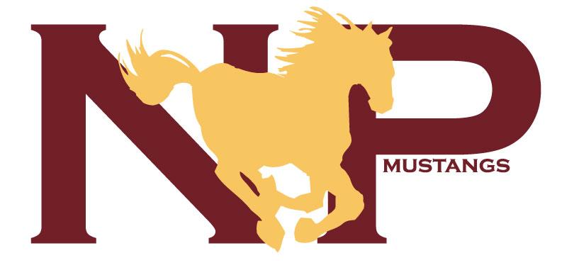 North Port Mustangs Logo