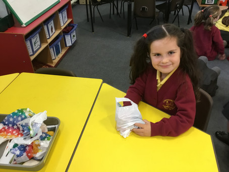Super senses session and sandwich making