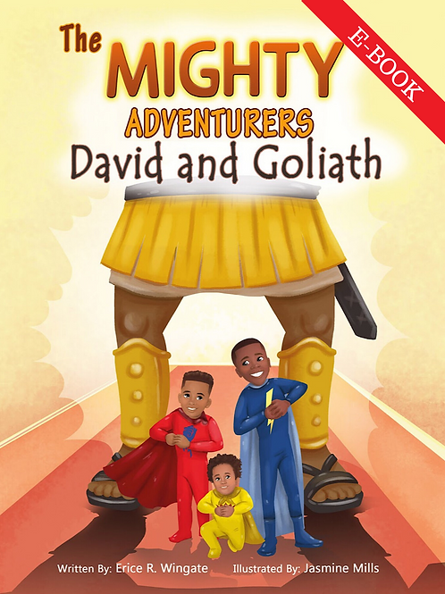 The Mighty Adventurers: David and Goliath (eBook - COMPATIBLE WITH APPLE BOOKS)
