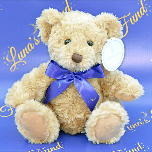 Plush Luna Bear with Logo Ribbon