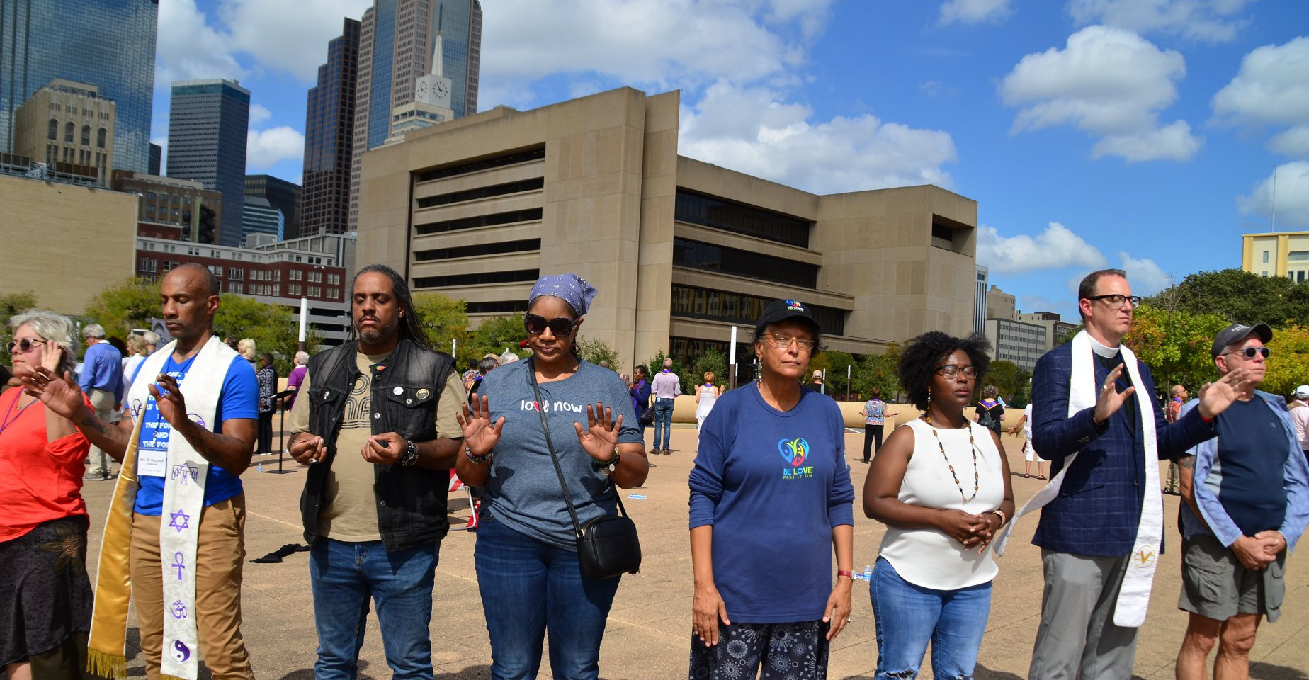 Rev. Ray and colleagues in Dallas TX