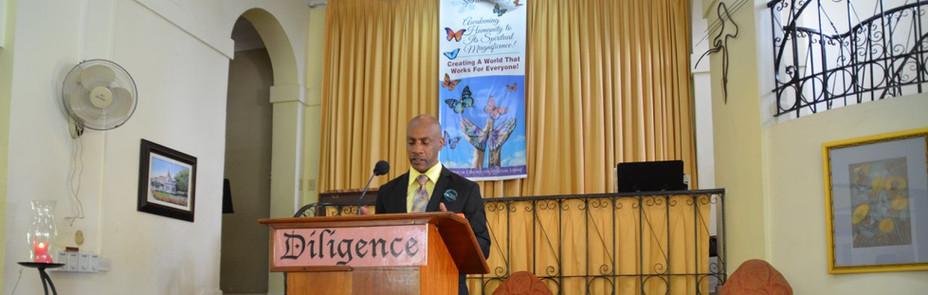 Rev. Ray in Jamaica