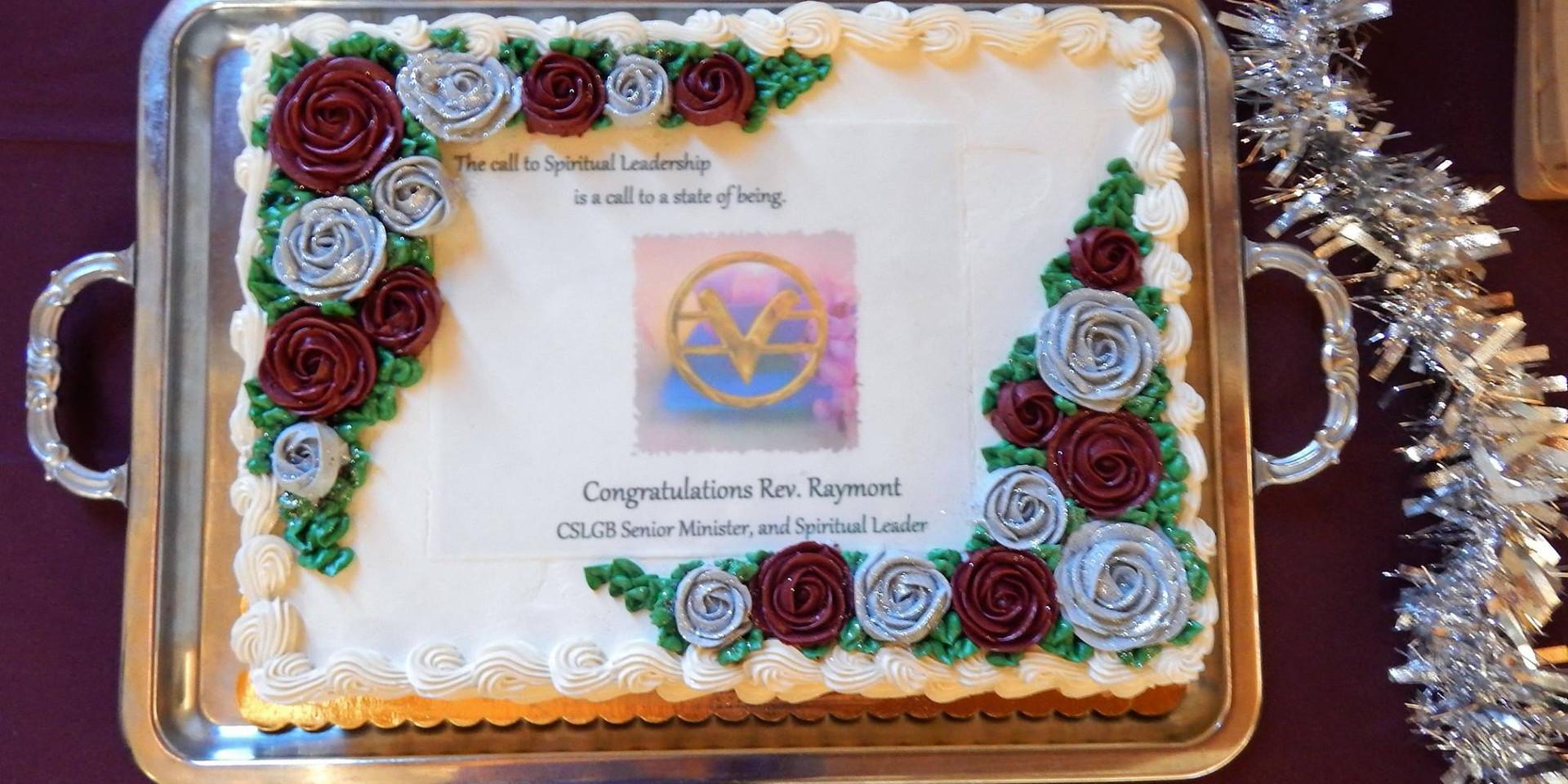 Installation ceremony of Rev. Ray
