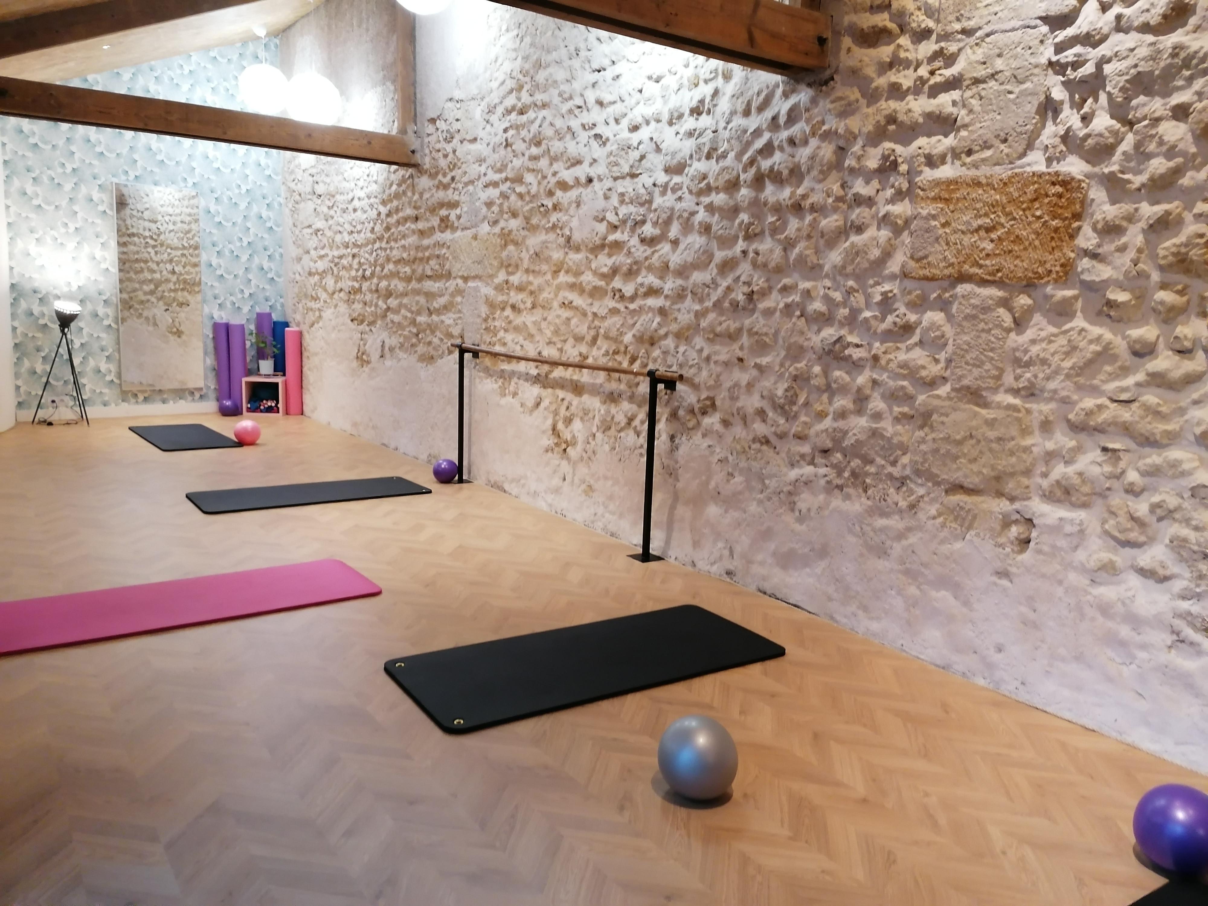 Pilates en  petit groupe à Vouvray