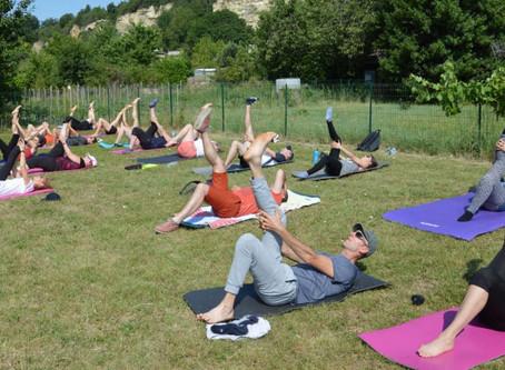 Cet été... Pilates en bord de Loire