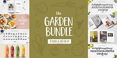 Garden_Font_Bundle_Cover.png