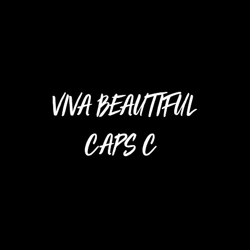 Viva Beautiful Caps C Font - 1 User