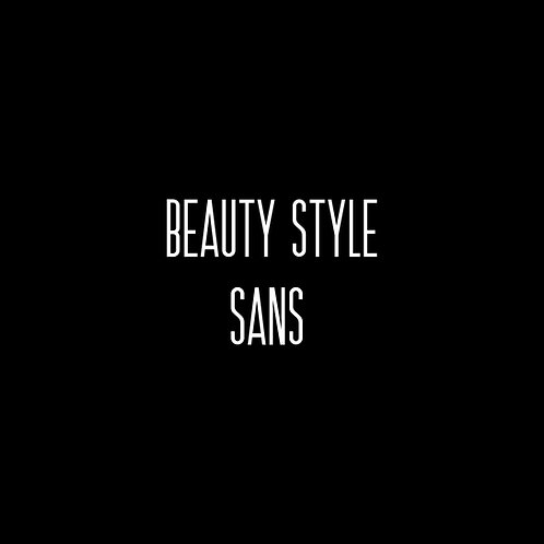 Beauty Style Sans Font - 1 User
