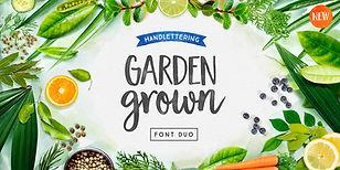 Garden Grown Font