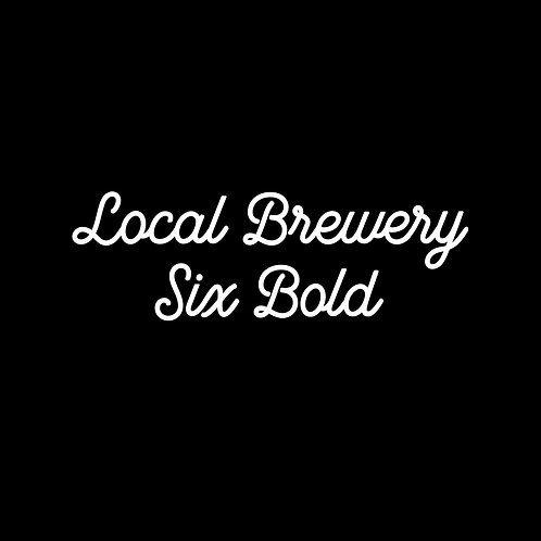 LOCAL BREWERY | SIX BOLD FONT