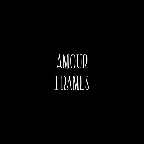 Amour Frames Font & Vector Art - 1 User
