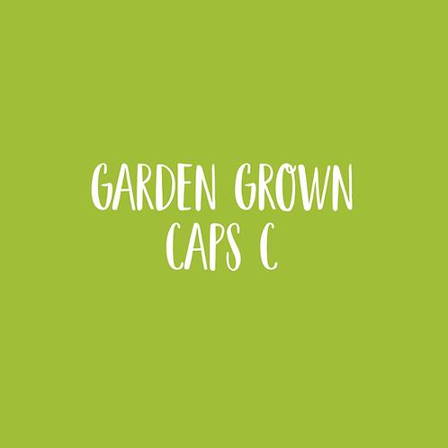 GARDEN GROWN | C CAPS FONT