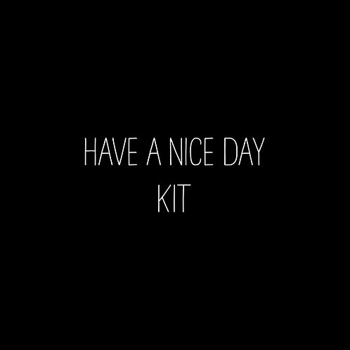 Have A Nice Day Font Kit - 1 User
