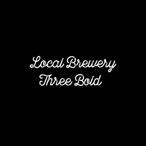 Local Brewery Three Bold Font - 1 User