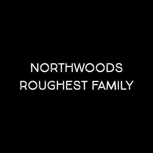 Northwoods Roughest Font Family - 1 User