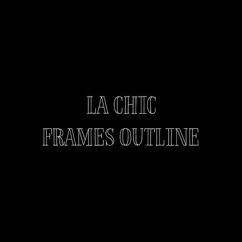 La Chic Frames Outline Font & Vector Art - 1 User