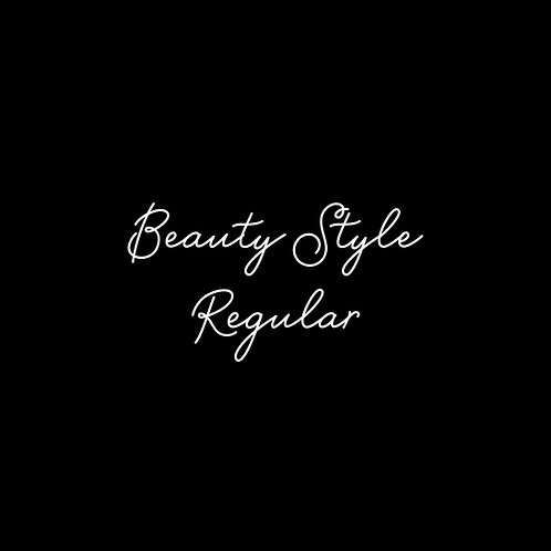 Beauty Style Regular Font - 1 User