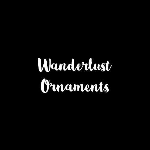 Wanderlust Ornaments Font & Vector Art - 1 User