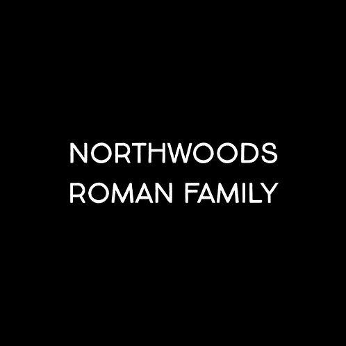 Northwoods Roman Font Family - 1 User