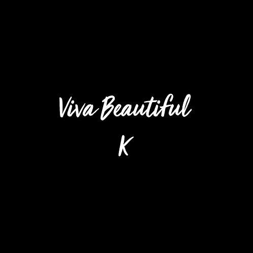 Viva Beautiful K Font - 1 User