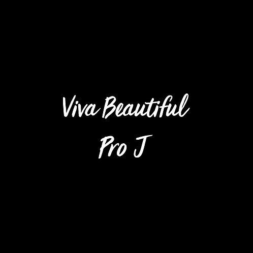 Viva Beautiful Pro J Font - 1 User