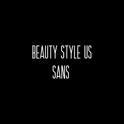 Beauty Style US Sans Font - 1 User