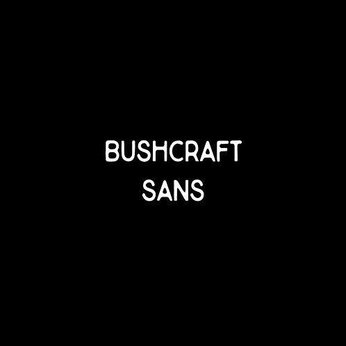Bushcraft Sans Font - 1 User