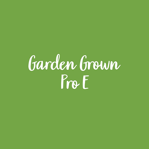 GARDEN GROWN | PRO E FONT