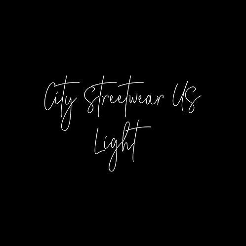 City Streetwear US Light Font - 1 User