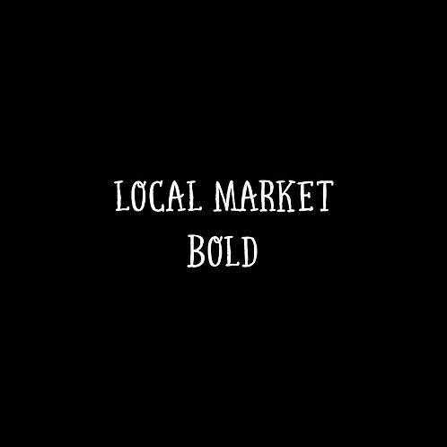 Local Market Bold Font - 1 User
