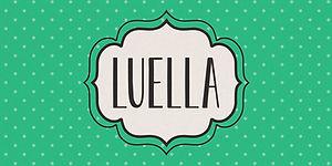 Luella Frames A Font