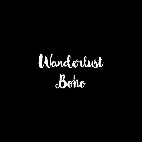 Wanderlust Boho Font - 1 User