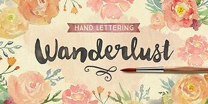Wanderlust Letters Kit