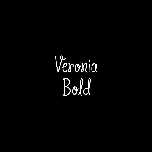 Veronia Bold Font - 1 User