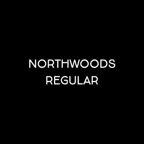 Northwoods Regular Font - 1 User