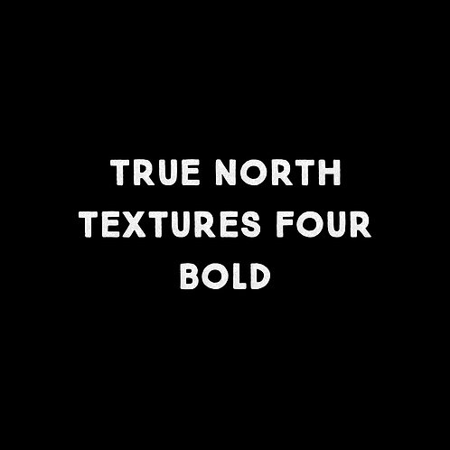 True North Textures Four Bold Font - 1 User
