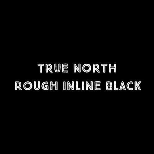 True North Rough Inline Black Font - 1 User